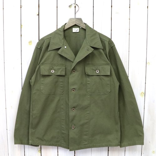 orSlow『USMC HERRINGBONE JACKET』(ARMY GREEN)