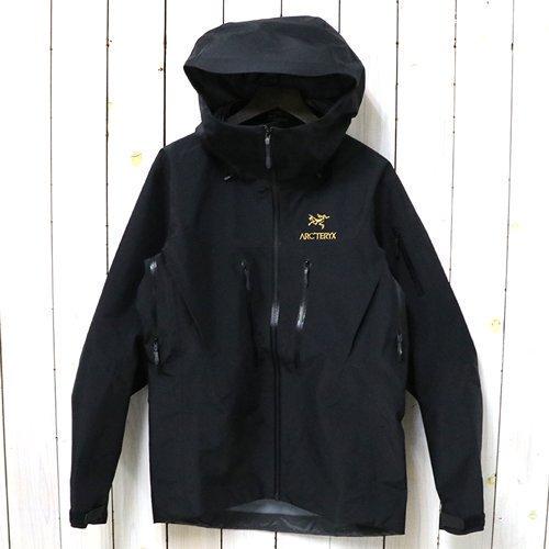 ARC'TERYX『Alpha SV Jacket』(24K Black)