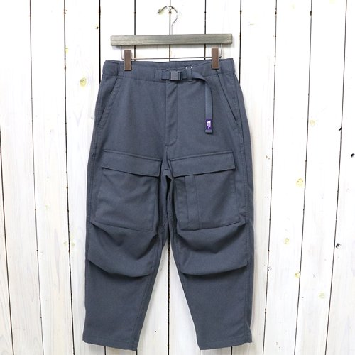 THE NORTH FACE PURPLE LABEL『Polyester Serge Field Pants』(Gray)