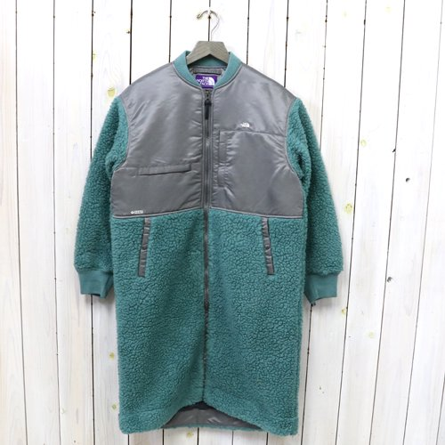 THE NORTH FACE PURPLE LABEL『Wool Boa Fleece Denali Coat』(Ice Teal)