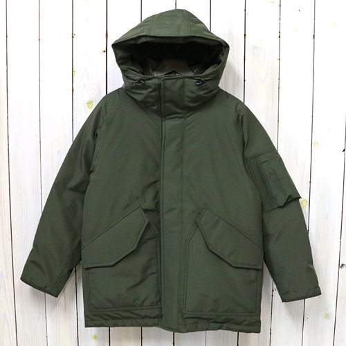 nanamica『GORE-TEX Down Coat』(Khaki Green)