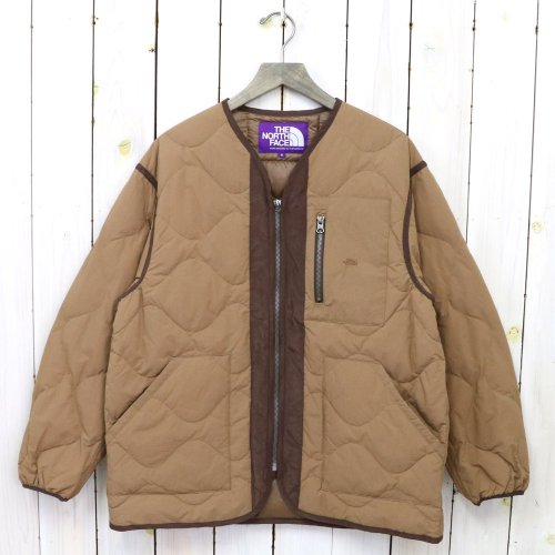 THE NORTH FACE PURPLE LABEL『Field Down Cardigan』(Coyote)