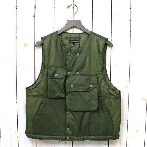 ENGINEERED GARMENTS『Cover Vest-Nylon Micro Ripstop』(Olive)