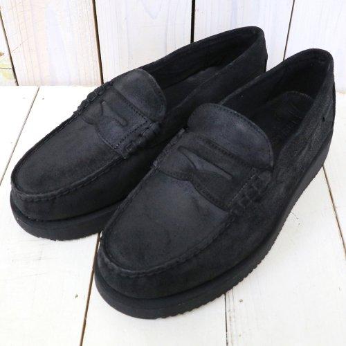 ENGINEERED GARMENTS×Sebago『Loafer-Waxy Suede』(Black)