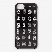 iPhone_6/6s/7/8/SE(第2世代) テキスタイルカバー/数遊び