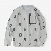 【net限定20%OFF】テーピングポケット 長袖Tシャツ/SO-SU-U大 銀鼠