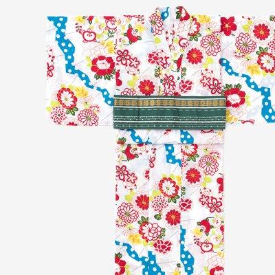 SOU・SOU×京都丸紅 浴衣/扇子(せんす) 清白(すずしろ)