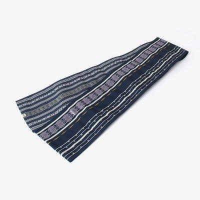 博多 半巾小袋帯/濃紺(のうこん)