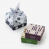 ■伊藤軒×SOU・SOU/菓子風呂敷包み 墨色(すみいろ)