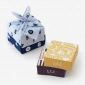 ■伊藤軒×SOU・SOU/菓子風呂敷包み 濃藍(こいあい)