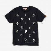 SO-SU-U 四味 半袖Tシャツ/濡羽色(ぬればいろ)