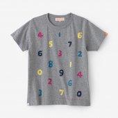 SO-SU-U 四味 半袖Tシャツ/杢灰(もくはい)