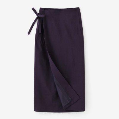 モスリン こしき/濃紫(こきむらさき)