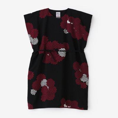 モスリン 長方形衣(ちょうほうけい)/雲間に菊(くもまにきく)