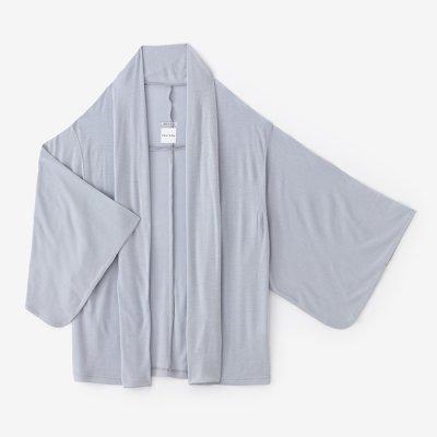 梳毛 両面編 小袖莢(こそでさや)/白花色(しらはないろ)