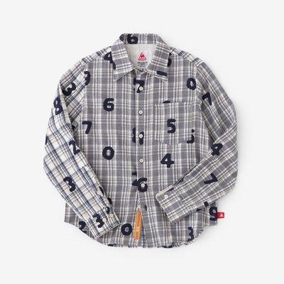 ネルチェックシャツ/SO-SU-U ハ