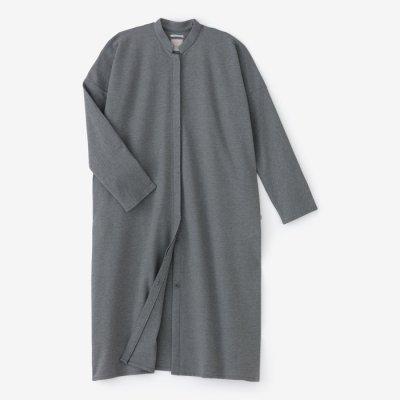 ポンチローマ スタンドカラー ライトコート/濃灰(こいはい)