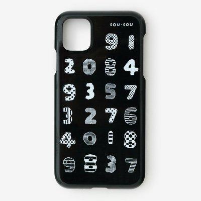 iPhone_11 テキスタイルカバー/数遊び