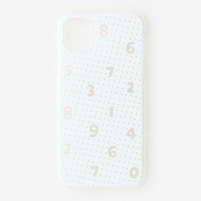 iPhone_11 テキスタイルカバー/クリア・SO-SU-U 霧中