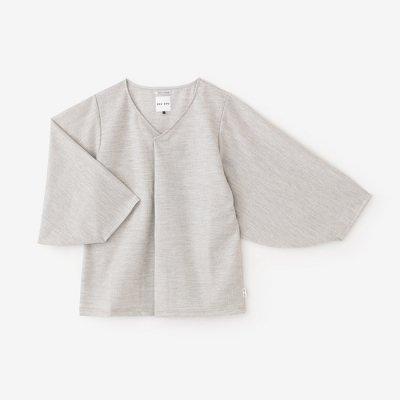 【net限定】千鳥格子編 薙刀袖襞衣/雲井鼠(くもいねず)