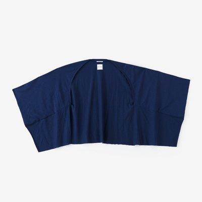 綿モダール むささび 短丈/濃紺(のうこん)