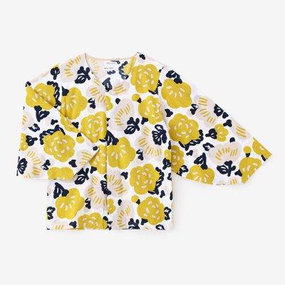 【net限定】薙刀袖襞(なぎなたそでひだ)ジバン/花っこ
