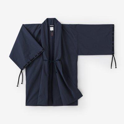 撥水織 宮中袖 間 単(はっすいおり きゅうちゅうそで けん ひとえ)/留紺(とめこん)