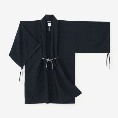 撥水織 宮中袖 間 単(はっすいおり きゅうちゅうそで けん ひとえ)/濡羽色(ぬればいろ)