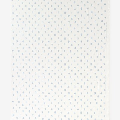 テキスタイル計り売り (高島縮 坂尾織物)/SO-SU-U つくも×浅縹(あさはなだ)<50cm>