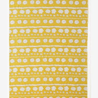 テキスタイル計り売り (高島縮 坂尾織物)/白つめ草(しろつめくさ)<50cm>