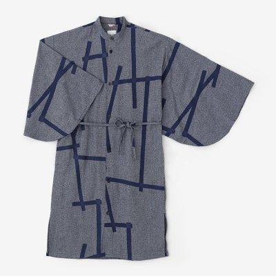 【net限定】斑(むら) 綾織 薙刀かり衣/鳶 薄花杢(とび うすはなもく)