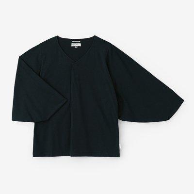 【net限定】薙刀袖襞(なぎなたそでひだ)ジバン/青墨(あおずみ)