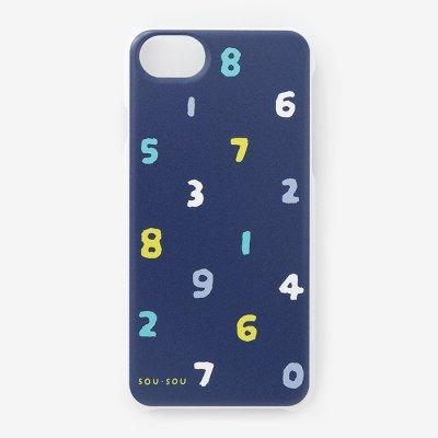iPhone_6/6s/7/8/SE(第2世代) テキスタイルカバー/SO-SU-U 四味紺青(よつみこんじょう)