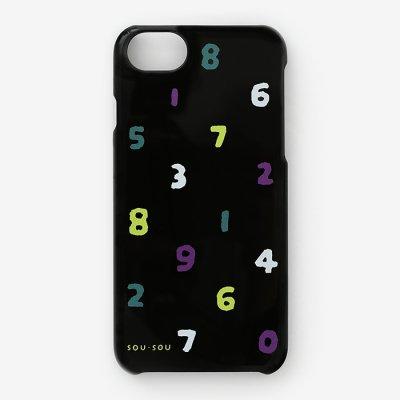 iPhone 6/6s/7/8/SE(第2世代) テキスタイルカバー/SO-SU-U 四味濡羽色(よつみぬればいろ)