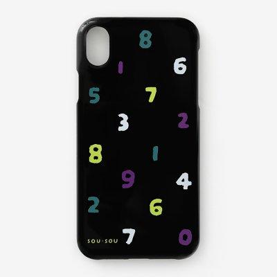 【net限定30%OFF】iPhone_XS_Max テキスタイルカバー/SO-SU-U 四味濡羽色(よつみぬればいろ)