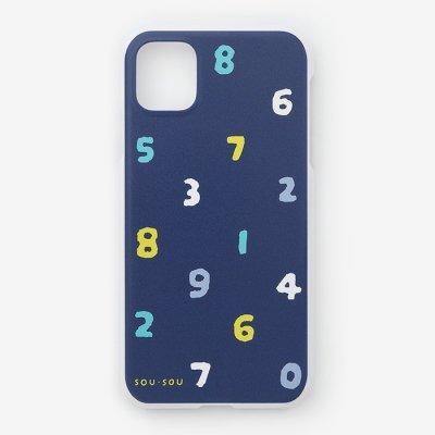 iPhone_11 テキスタイルカバー/SO-SU-U 四味紺青(よつみこんじょう)