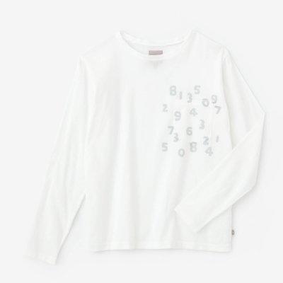 高島縮 40/40 長袖ポケットTシャツ/つくも×SO-SU-U昆(こん)