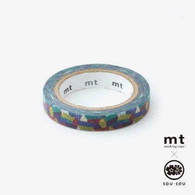 SOU・SOU×mt テキスタイル・マステ/北の国【0.7cm幅】