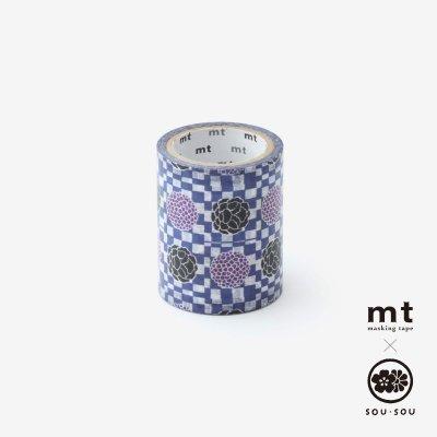 SOU・SOU×mt pocket/霰に華紋(あられにかもん)【5.0cm幅】