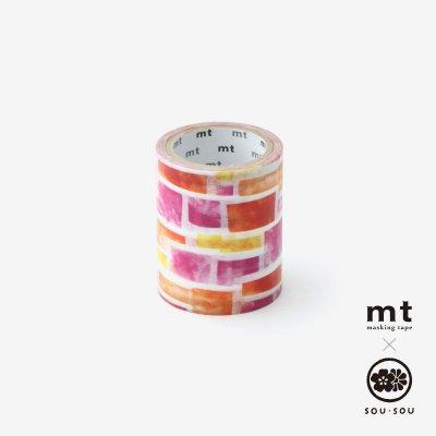 SOU・SOU×mt pocket/花園(はなぞの)【5.0cm幅】