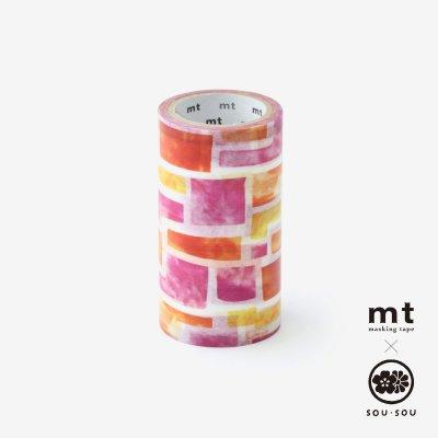 SOU・SOU×mt pocket/花園(はなぞの)【7.5cm幅】