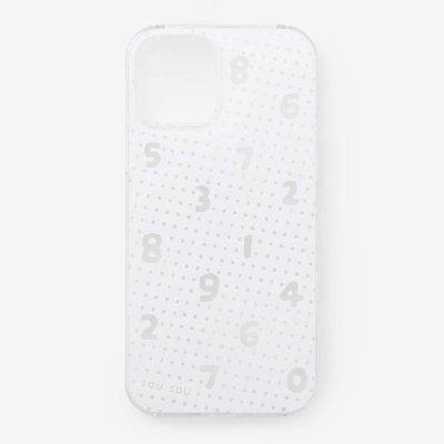 iPhone_12_mini テキスタイルカバー/クリア・SO-SU-U 霧中