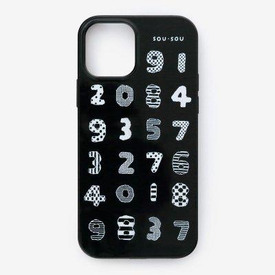 iPhone_12_mini テキスタイルカバー/数遊び