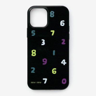 iPhone_12/12_Pro テキスタイルカバー/SO-SU-U 四味濡羽色(よつみぬればいろ)