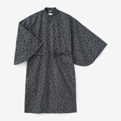 【net限定】インディゴ 薙刀かり衣(なぎなたかりごろも)/ちぎれ雲 杢紺(もくこん)