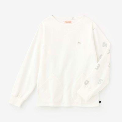 【予約10%OFF】ポンチローマ ボートネックシャツ/つくも×SO-SU-U(※3月下旬発送予定)