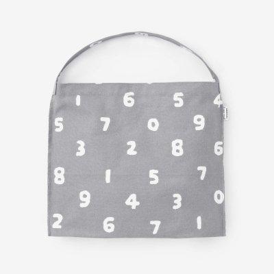 知多木綿 9号帆布 小巾鞄(こはばかばん)/SO-SU-U 薄墨色(うすずみいろ)