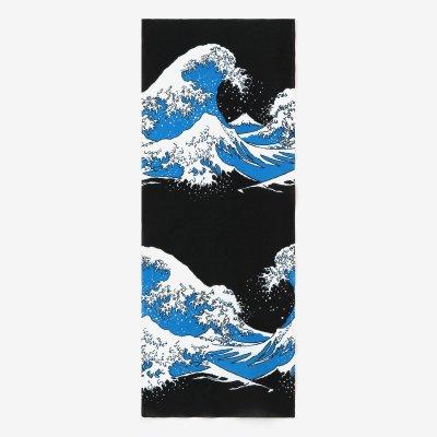 伊勢木綿 手ぬぐい/北斎(ほくさい) 神奈川沖浪裏(かながわおきなみうら) 写し(うつし)