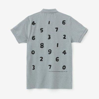SO-SU-U 半袖ポロシャツ/薄杢鼠(うすもくねず)