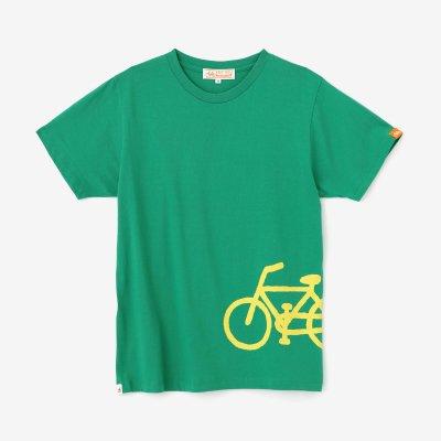 チャリンコ 半袖Tシャツ2/常磐色(ときわいろ)